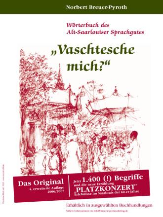 Plakat: Wörterbuch des Alt-Saarlouiser Sprachgutes
